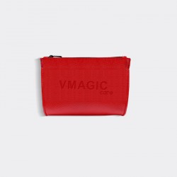 Makeup Bag - Red